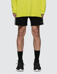 Stampd Check Stripe Terry Short