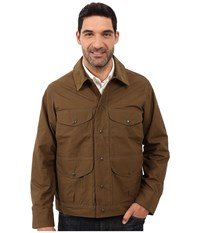 Filson Lightweight Dry Journeyman Jacket Marsh Olive Men's Coat Brown