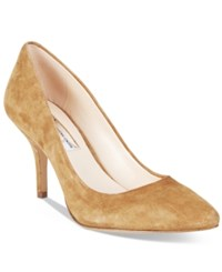Inc International Concepts Womens Zitah Pointed Toe Pumps Only At Macy's Women's Shoes Toffee