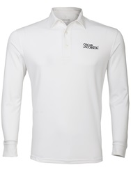 Oscar Jacobson Plain Polo Regular Fit Polo Shirt White