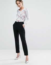 Ted Baker Zeevat Cigarette Pants Black