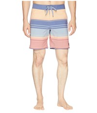 United By Blue Sea Bed Scallop Boardshorts Navy Swimwear