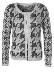 Bloom Cardigan Anthracite Grey Melange