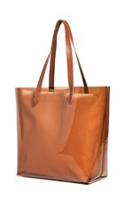 Madewell Transport Tote Bag Amber Brown