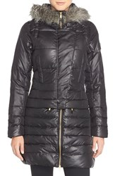 Women's Lole 'Rebel' Water Resistant Convertible Jacket With Faux Fur Trim