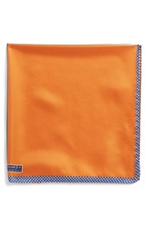 Men's J.Z. Richards Silk Pocket Square Orange