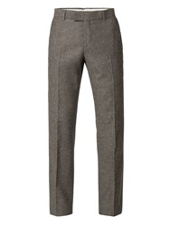 Racing Green Men's Sand Donegal Big And Tall Trouser Sand