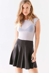 Silence And Noise Spin City Knit Skater Skirt Black