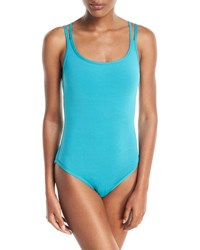 Jets By Jessika Allen Illuminate Bound Strappy One Piece Swimsuit Blue