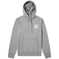 Wood Wood Fred Popover Hoody Grey