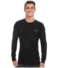 Columbia Heavyweight Ii Long Sleeve Top Black Men's Long Sleeve Pullover