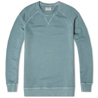 Nudie Jeans Sawyer Sweatshirt Blue