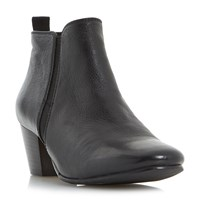 Dune Perdy Casual Low Boots Jet Black