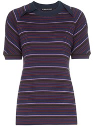 Y Project Striped T Shirt Multicolour