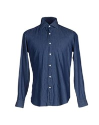 Mastai Ferretti Denim Denim Shirts Men