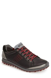 Men's Ecco 'Biom Hybrid 2' Golf Shoe Black Brick