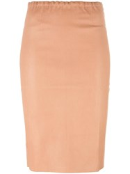 Stouls Gilda Pencil Skirt Nude Neutrals