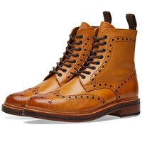 Grenson Fred Brogue Boot Brown