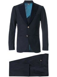 Maurizio Miri Classic Two Piece Suit Blue
