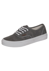 Vans Authentic Trainers Washed Quiet Shade True White Grey