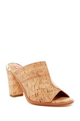 Elaine Turner Designs Rori Open Toe Mule Beige