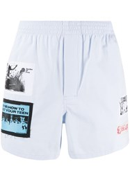Raf Simons Graphic Patch Shorts 60