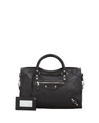Balenciaga Giant 12 Nickel City Bag Black
