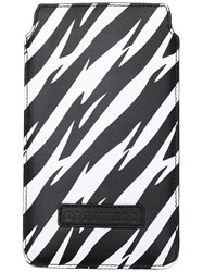 Dsquared2 Zebra Print Iphone 7 Case Black