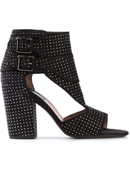 Laurence Dacade Studded Sandals With Side Buckle Fastenings Black