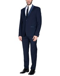 Simon Peet Suits Dark Blue
