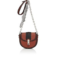 Altuzarra Women's Ghianda Mini Chain Saddle Bag Brown