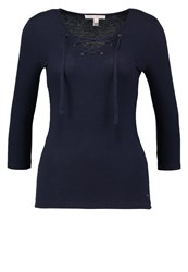 Tom Tailor Denim Long Sleeved Top Dark Blue