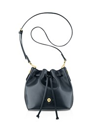 Anne Klein Nina Drawstring Bucket Bag Black
