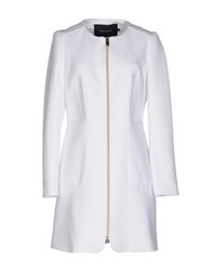 Tara Jarmon Coats And Jackets Full Length Jackets Women White