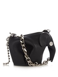 Loewe Punk Elephant Coin Purse Black