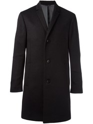 Calvin Klein 'Carlo' Long Coat Grey