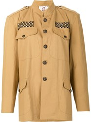 Figue 'Peace' Military Jacket Nude Neutrals