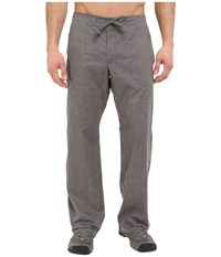 Prana Sutra Pant Gravel Men's Casual Pants Silver