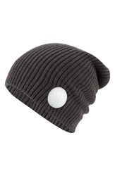 Converse Men's 'Winter Slouch' Knit Cap Grey Converse Charcoal