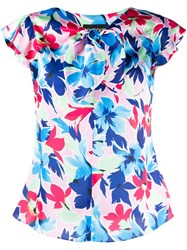 Boutique Moschino Floral Print Blouse 60