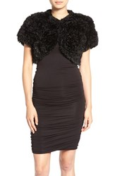 Jocelyn Women's 'Bleach' Genuine Rabbit Fur Shrug