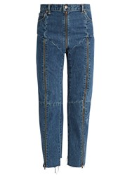 Vetements X Levi's Reworked Tapered Leg Jeans Blue