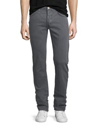 Billy Reid G D Slim Jeans Charcoal