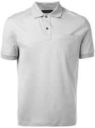 Prada Polo Shirt Grey