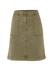 White Stuff Bessie Chino Skirt Khaki