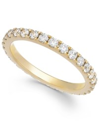 Arabella Swarovski Zirconia Infinity Band In 14K White Gold Yellow Gold