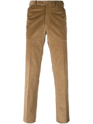 Brioni Slim Fit Chinos Nude And Neutrals