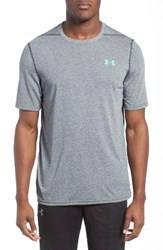 Under Armour Men's Regular Fit Threadborne T Shirt Stealth Grey