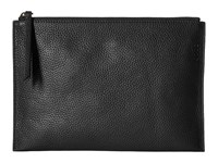 Ecco Sculptured Clutch Black Clutch Handbags