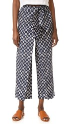 Stella Jean Printed Pants Blue Multi